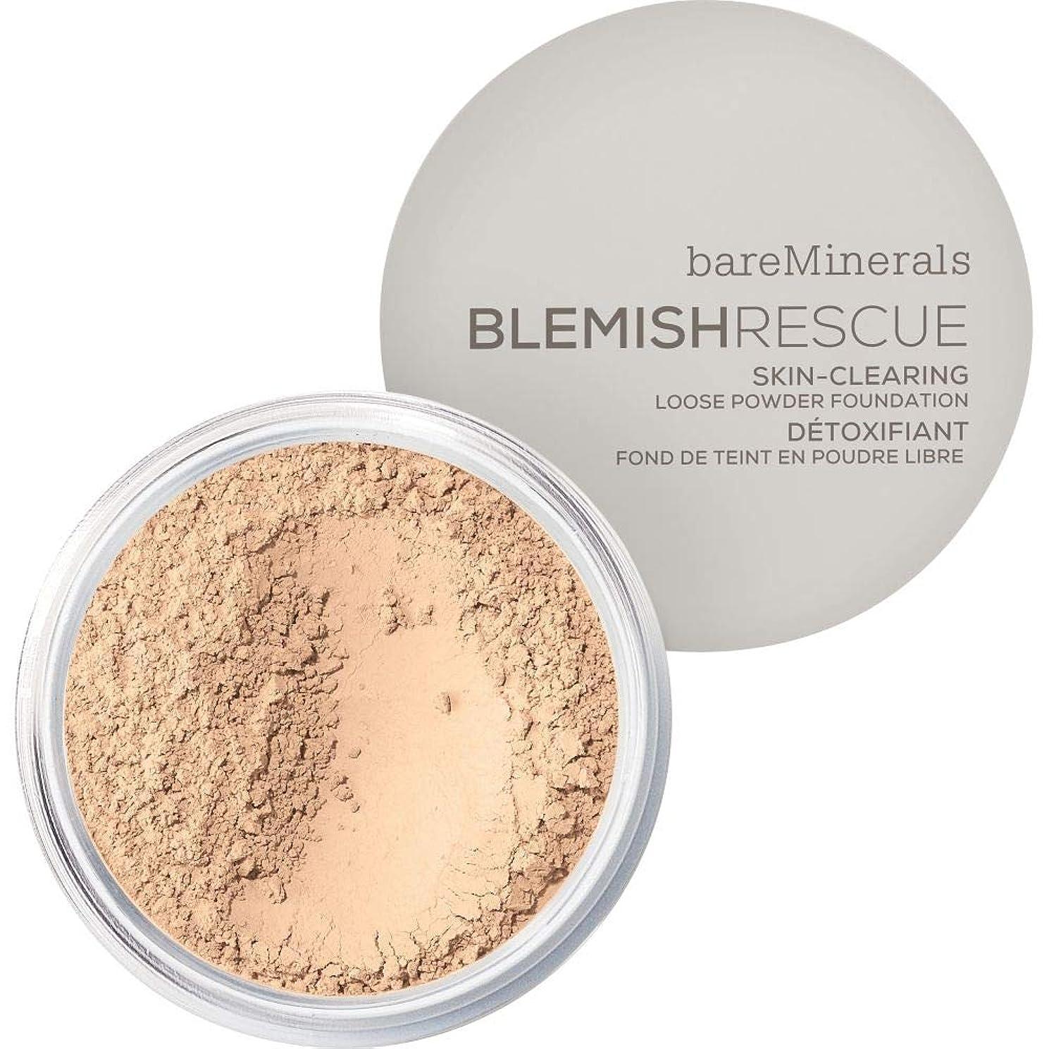 ネコ熱心なうねる[bareMinerals ] かなり光 - ベアミネラルは、レスキュースキンクリア緩いパウダーファンデーション6グラム1Nwが傷 - bareMinerals Blemish Rescue Skin-Clearing Loose Powder Foundation 6g 1NW - Fairly Light [並行輸入品]