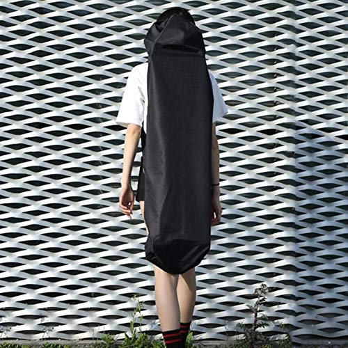 BESTEU Oxford Stoff Skateboard Rucksack Skateboard Ausrüstung Tragetasche Schutzhülle mit Schultergurt