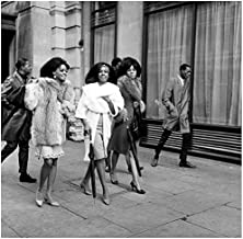 Diana Ross and The Supremes African Beauties On London's Streets in The 1960s-70s (7) an 8 x 10 Photo African American Photograph