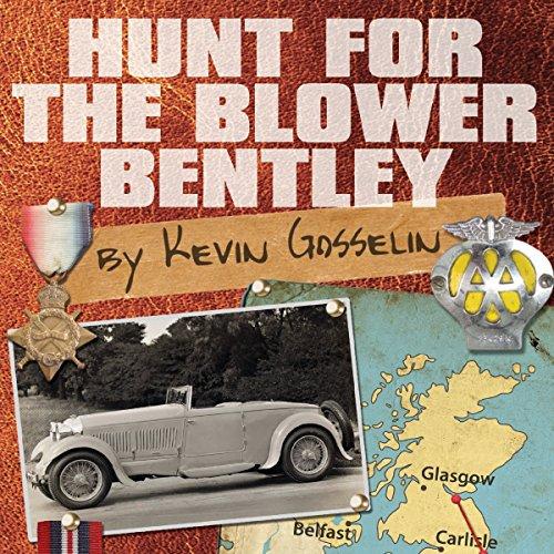 Hunt for the Blower Bentley audiobook cover art