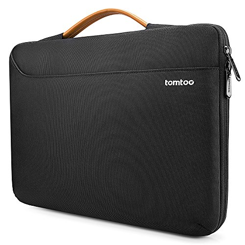 tomtoc Recycled Laptop Carrying Case for 13.5 Inch Microsoft Surface Book 3/2/1, Surface Laptop 3/2/1, 360 Protective Notebook Sleeve Bag for 13.3 Inch MacBook Air/MacBook Pro, Water-Resistant