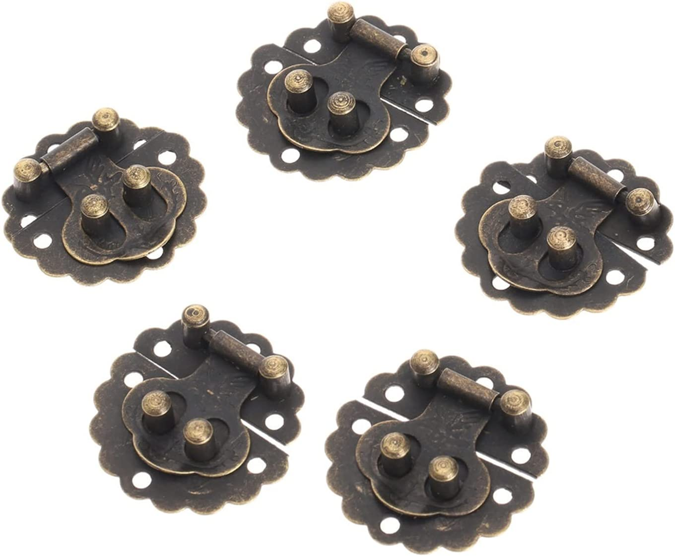 Household Furniture Hardware Limited Special Price Hinges Lat Max 63% OFF 10pcs Vintage Decorative