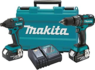 Makita XT248 18V LXT Lithium-Ion Brushless Cordless 2-Pc. Combo Kit (3.0Ah)