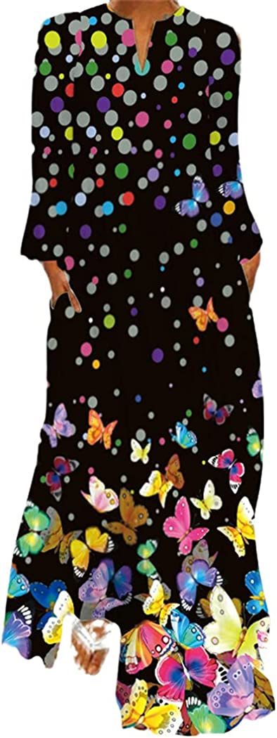 3D Butterfly Washington Mall Print Manufacturer direct delivery Spring Dress Casual Sexy Beach Dresses Boho W