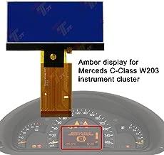 Allway Instrument Speedometer Cluster LCD Screen Display for Mercedes-Benz W203 C230 C240 C320 C-Class 2001-2004