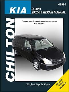 Chilton Repair Manual for Kia Sedona (2002-2014)