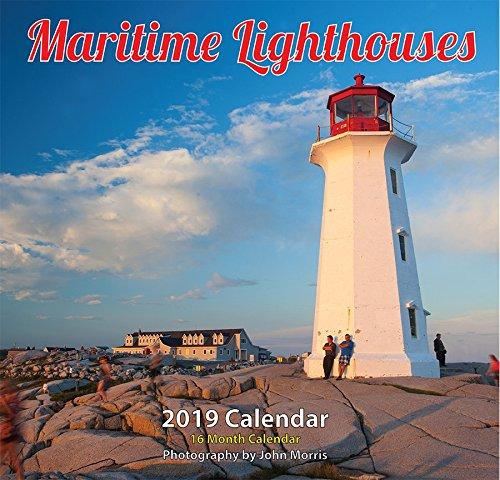 2019 Maritime Lighthouse Monthly Wall Calendar 12