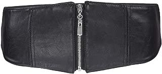 Samtree Waist Belt for Womens, Wide Elastic Cinch Belts Zipper Stretch Waistband