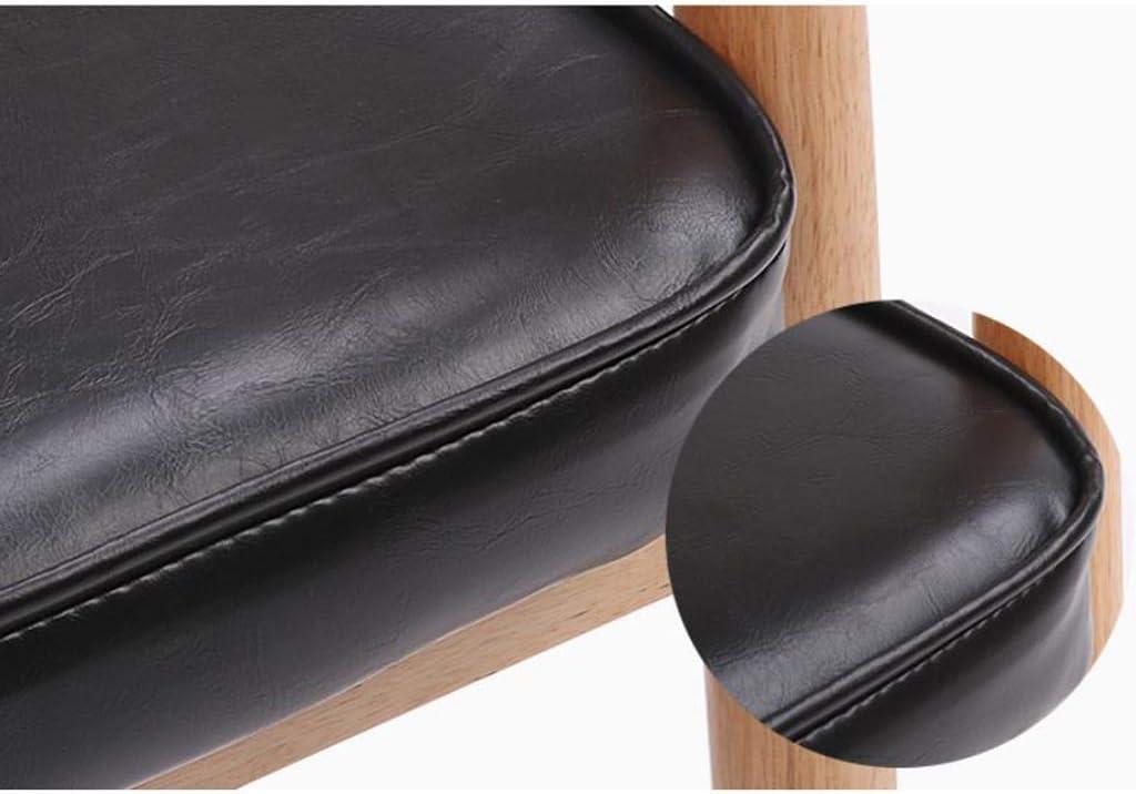Solide Simple Chaise Bureau étudiant et Chaise de Maquillage Tabouret Retour à la Maison à Manger Chaise d'ordinateur Stable (Color : Yellow) Black