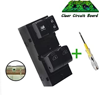 Beneges Master Power Window Switch Compatible with 2003-2008 Nissan 350z, 2005-2007 Infiniti G35 Coupe Front Left Driver Side Control Switch 25401-CD010, 25401-CD02D