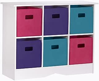 Best riverridge kids 6 bin storage cabinet white jewel Reviews