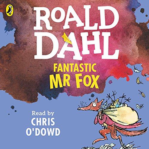 Fantastic Mr Fox audiobook cover art