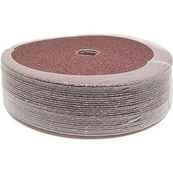 """7/"""" Zirconia Resin Fiber Disc 36 Grit 7 inch Grinding /& Sanding Discs 25 Pack"""