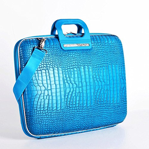 Cocco Bombata Siena Briefcase for 13 Inches - Turquoise