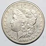 1896 S Morgan Silver Dollar $1 VF