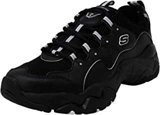 Skechers Men's D Lites 3-0 Sliverwood Fashion Sneakers Black