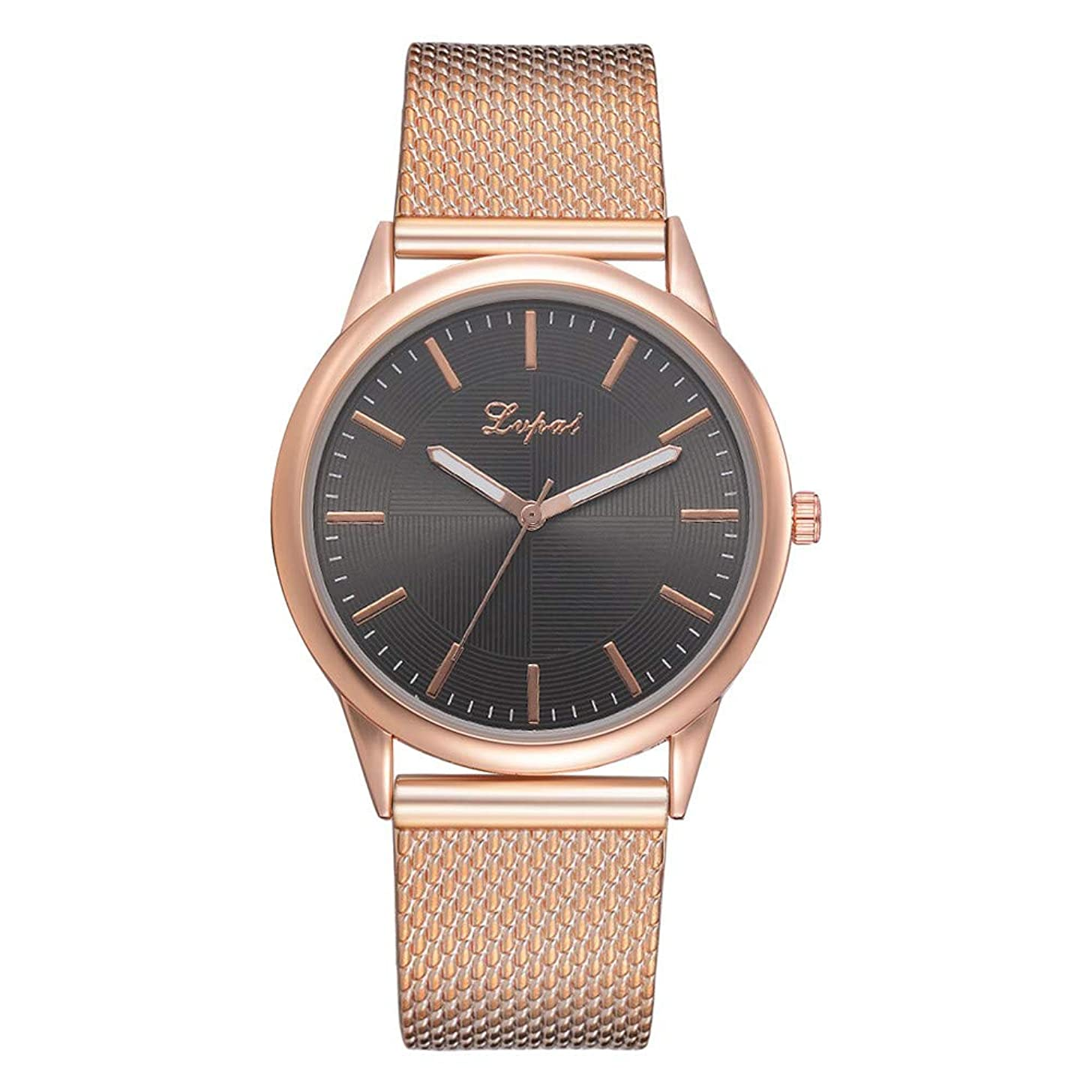 Women Quartz Watches,Fudule Analog Wrist Watches for Women with Stainless Steel Band Ladies Dress Watch Clearance