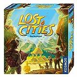 KOSMOS 694128 Lost Cities – Auf Schatzsuche, Die Expedition ins Abenteuer, Das Basis-Spiel, spannendes Brettspiel, Gesellschaftsspiel für 2-4 Spieler ab 10 Jahre, Familienspiel
