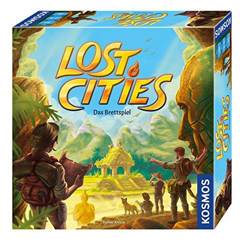 KOSMOS Spiele 694128 - Lost Cities - Das Brettspiel