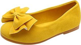 WINJIN Enfants Filles Bowknot Pompes Chaussures Pois Chaussures De Danse Chaussures Princesse Chaussures Simples,Bowknot C...