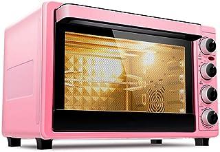 Oven CYN-Horno Tostador eléctrico de Escritorio multifunción de 32L con calefacción Independiente, Secado a Baja Temperatura, circulación de Aire Caliente, rotación de 360 °, 1500W Rosa