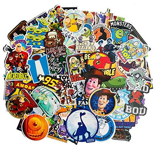 Toy Story Buzz Lightyear Stickers Luggage Suitcase Phone Laptop Sticker 100PCS