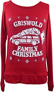 National Lampoon's Christmas Griswold Womens Faux Knit Sweater