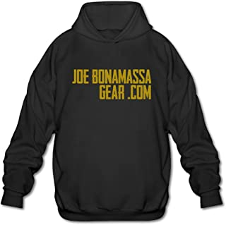 Man's Joe Bonamassa Gold Logo Warm Hoodies Sweatshirts