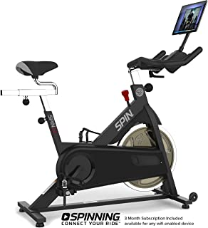 SPINNING Spin L7 Indoor Cycling Chain Drive Spin Bike with Digital Subscription