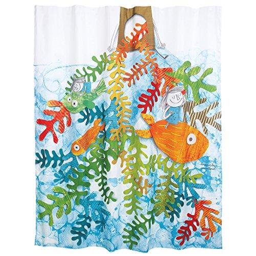Laroom Cortina baño, Multicolor