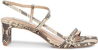 STEVEN by Steve Madden Women's Oceana Heeled Sandal, Natural Multi, 8 M US