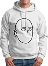 Man Boy Anime One Punch Man Chatacter Head Hooded Pullover
