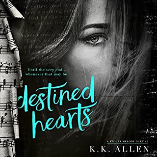 Destined Hearts     A Stolen Melody Duet              By:                                                                                                                                 K.K. Allen                               Narrated by:                                                                                                                                 Lynn Barrington,                                                                                        John Masterson                      Length: 8 hrs and 37 mins     57 ratings     Overall 4.6