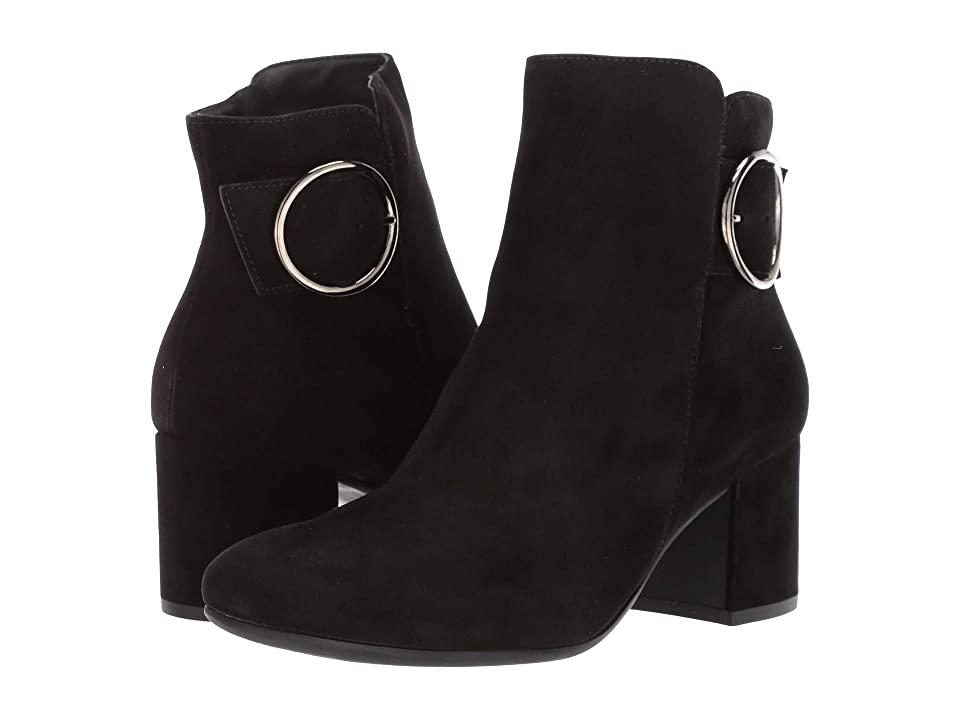 Paul Green Taylor Boot (Black Suede) Women
