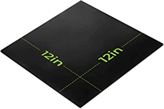 Silicone Rubber Sheet 12x12-inch by 1/16 Black Duro Shore A65/ High Temperature Heavy Duty for Gaskets DIY Material Supports Leveling Sealing Bumpers Protection Abrasion Covers