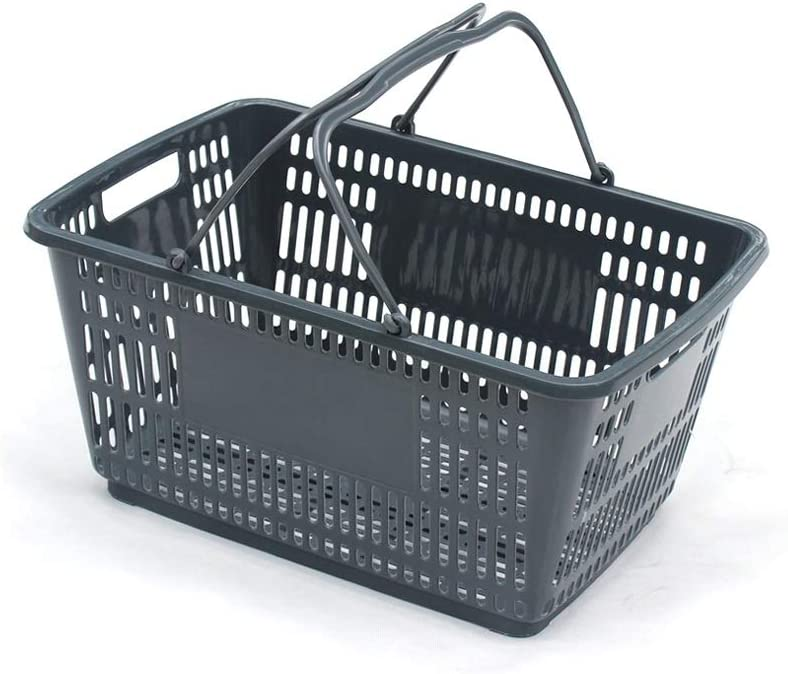 Max 90% OFF Very popular! Supermarket Shopping Basket Household Plastic PP Portable