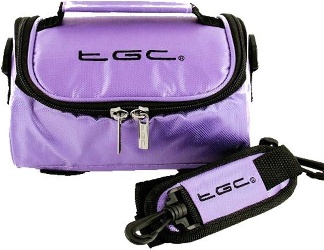 NavPal Sat Nav GPS Case Bag by TGC /® with shoulder strap and Carry Handle Hot Orange /& Black
