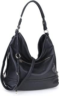 Large Hobo Handbag Shoulder Purse for Women Soft PU leather Crossbody Bag