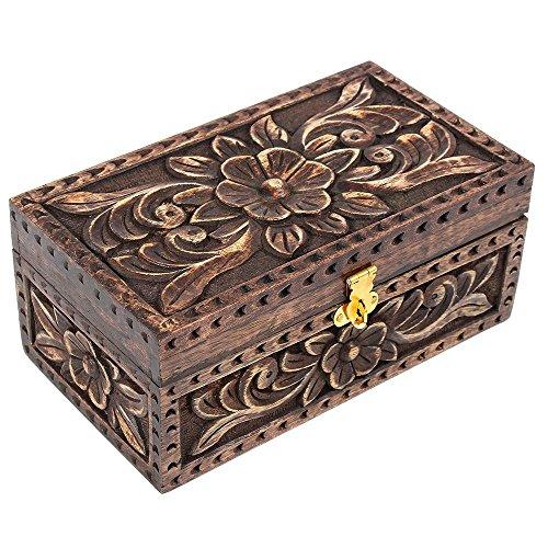 Día de Navidad regalos joyería joyero caja de madera