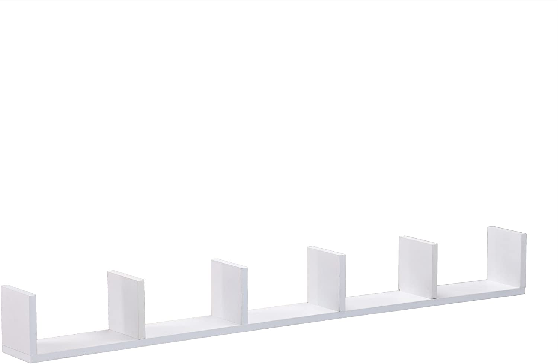 SEI Furniture Sectionalized Storage, White