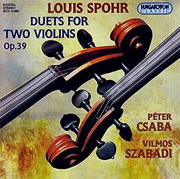 Spohr: Violin Duets, Op. 39