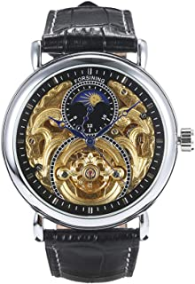 Men Fashion Luxury Hollow Watch Classic Charm Automatic Mechanical Wrist Watch