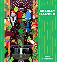 2019 Wall Calendar 2019 Monthly Planner Bird Decor Art by Charley Harper 12 x 26 Open
