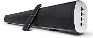 Soundbar, Wohome TV Sound Bar with Built-in Subwoofers and Bluetooth(4 Drivers, Remote Control, Wall Mountable, Support Op...