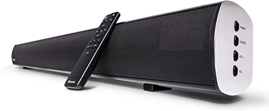 2.1 Channel Bluetooth Sound Bar, Wohome TV Soundbar with Built-in Subwoofer(Wireless Home..