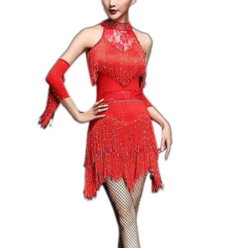 2623427f0024 Whitewed Fringe Great Gatsby Tango Dance Theme Woman Dress Outfits for  Adults
