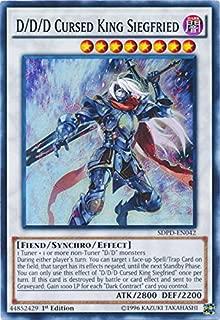 Yu-Gi-Oh D/D/D Cursed King Siegfried - SDPD-EN042 - Super Rare - 1st Edition - Pendulum Domination Structure Deck
