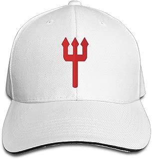 Karoda Manchester Red Devil Sandwich Hunting Peak Hat & Baseball Cap