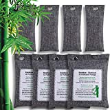 VEABEST Bamboo Charcoal Air Purifying Bag,(200g*4+75g*4), Natural Air Fresheners & Odor Eliminators
