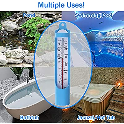 Scoop Water Temperature Thermometer Sampling Baby Elderly Kids Bath Thermometer 230 mm